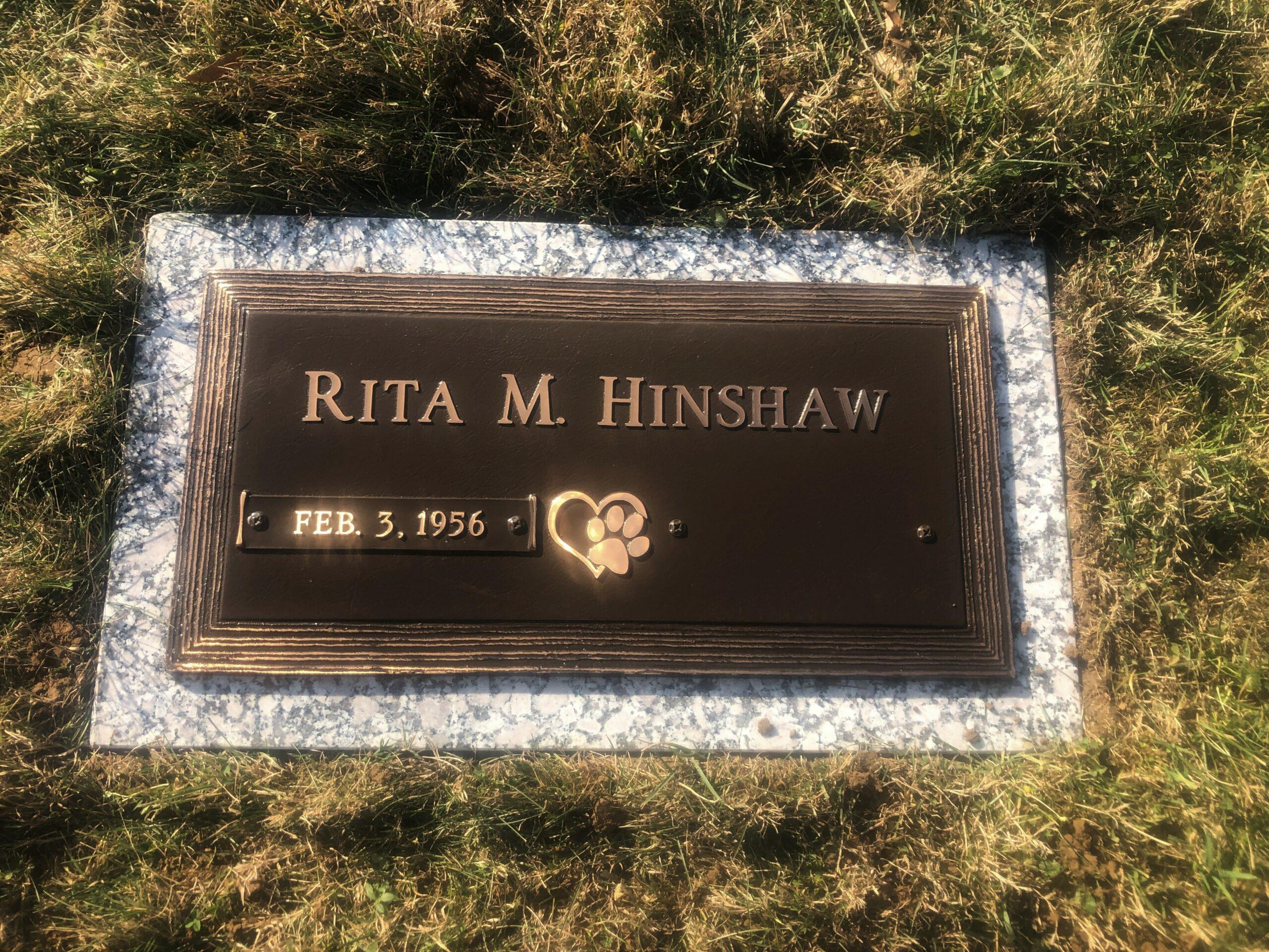 Hinshaw, Rita - New Concord Cem., 2-0, Bronze