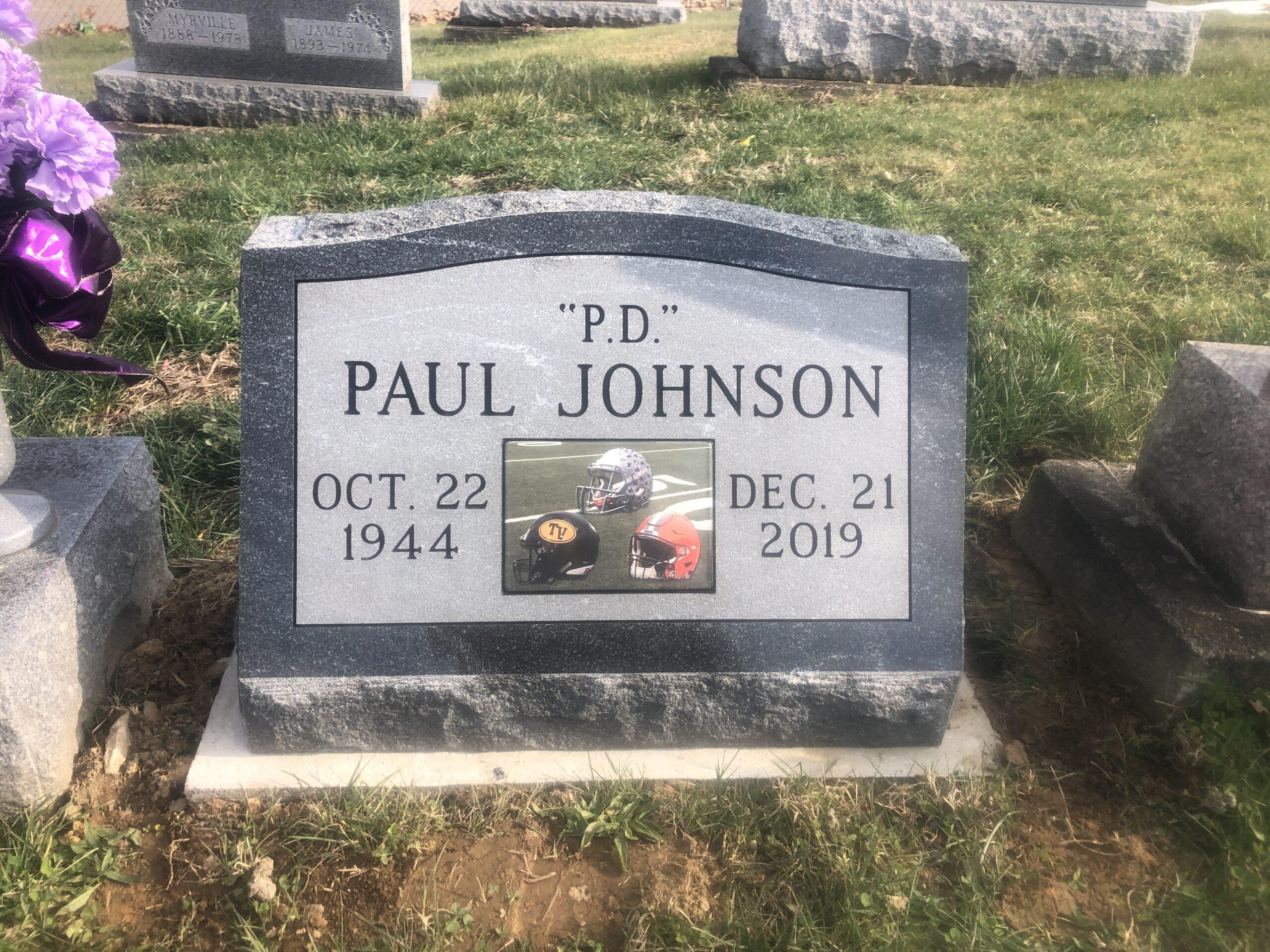 Johnson, Paul PD - New Hope Cem., 2-0, American Black