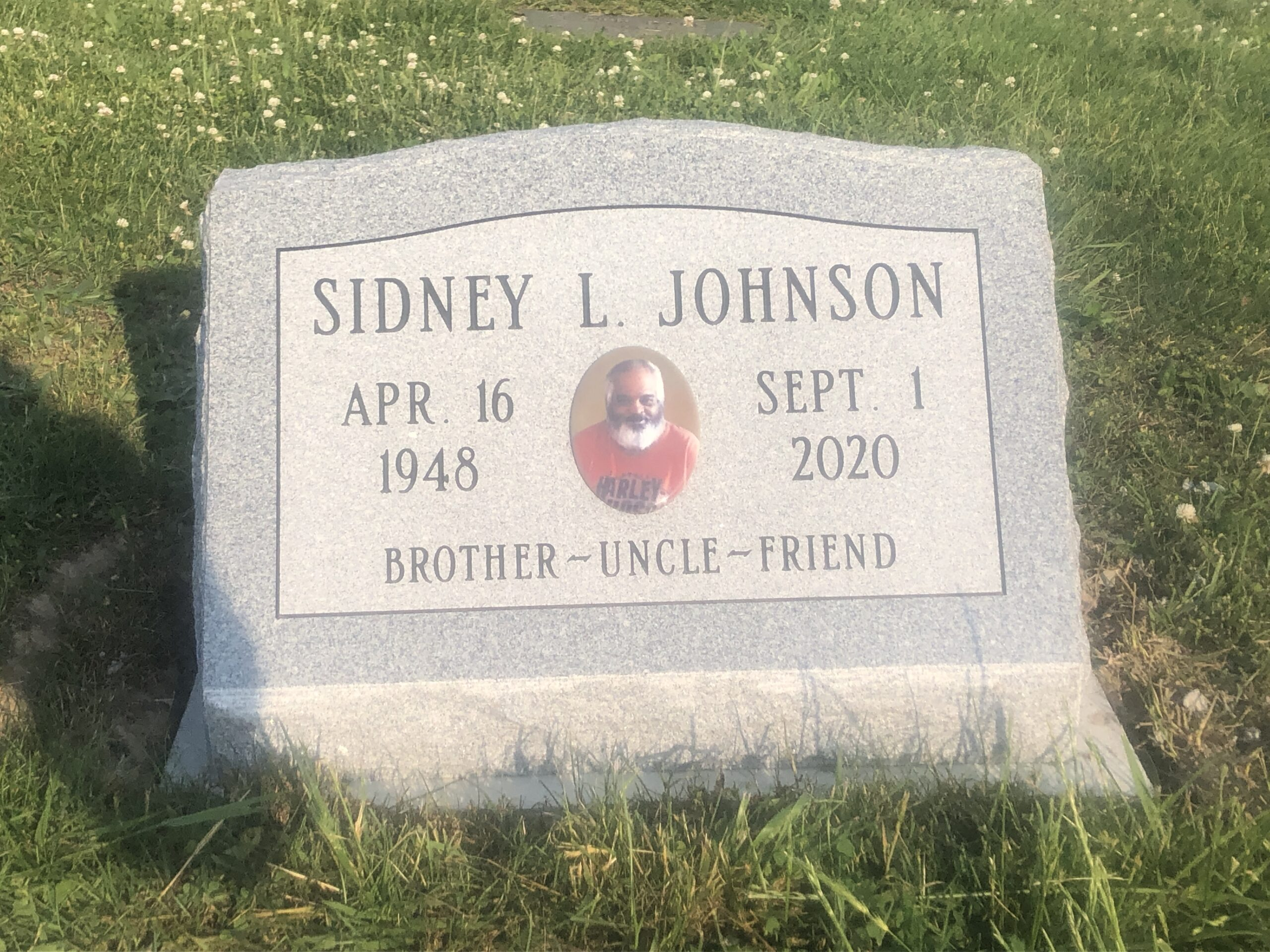 Johnson, Sidney - Woodlawn Cem., ZV, 2-0, Gray