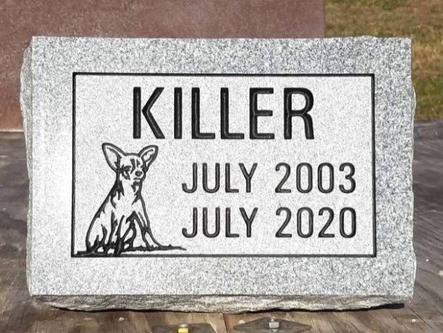 Killer Pet Memorial