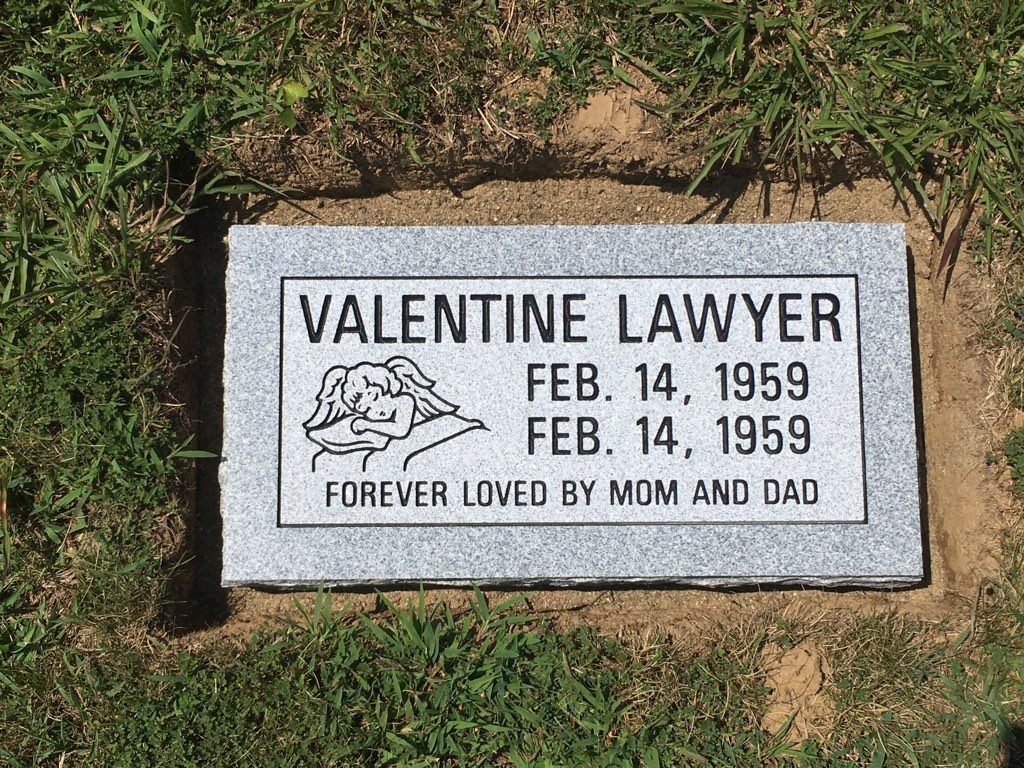 Lawyer, Valentine - Mt. Olive Cem., 1-8, Gray