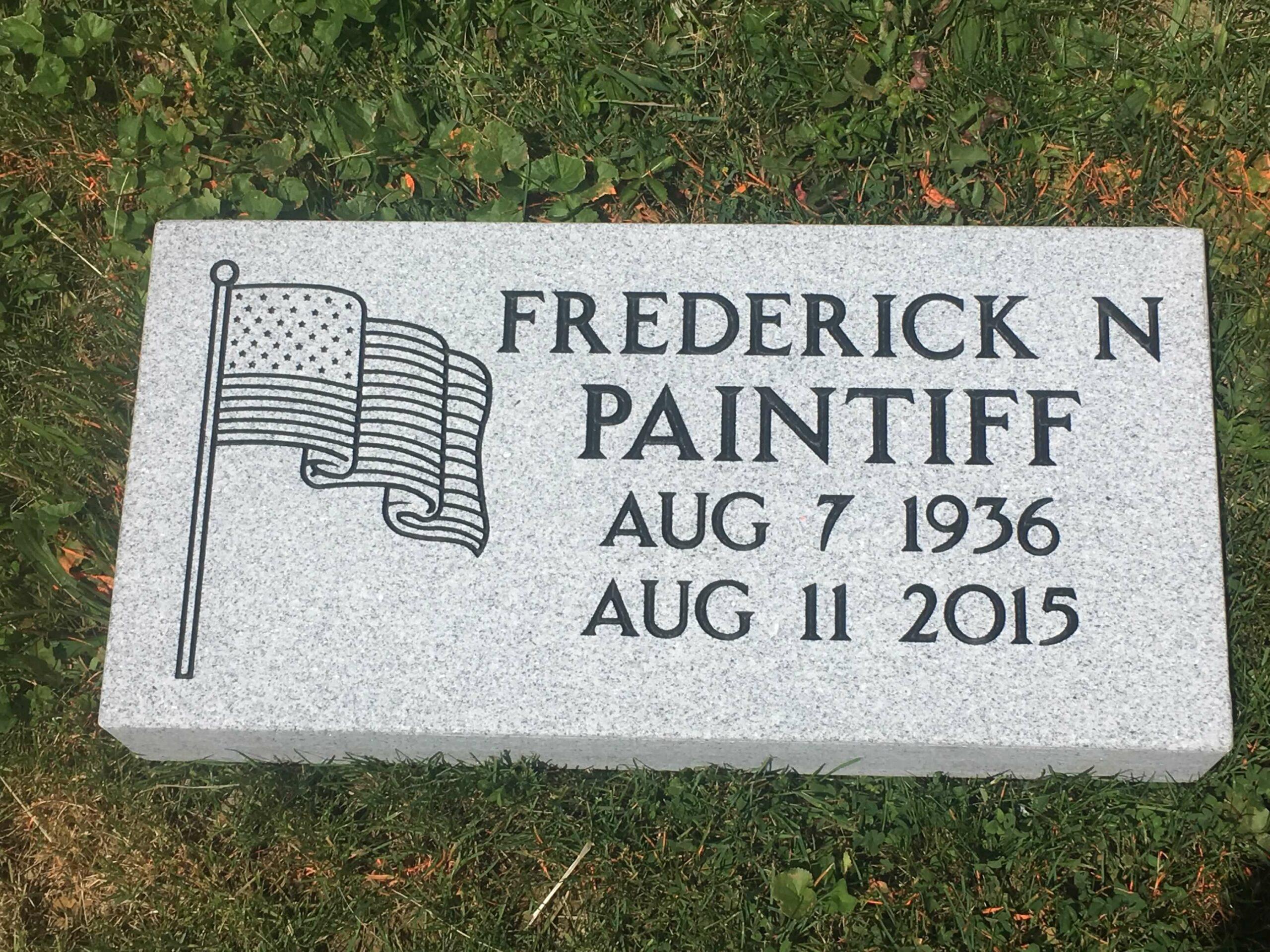 Paintiff, Frederick - Woodlawn Cem., 2-8, Gray