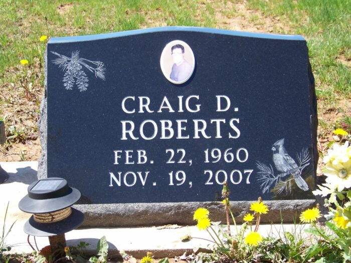 Roberts, Craig D.
