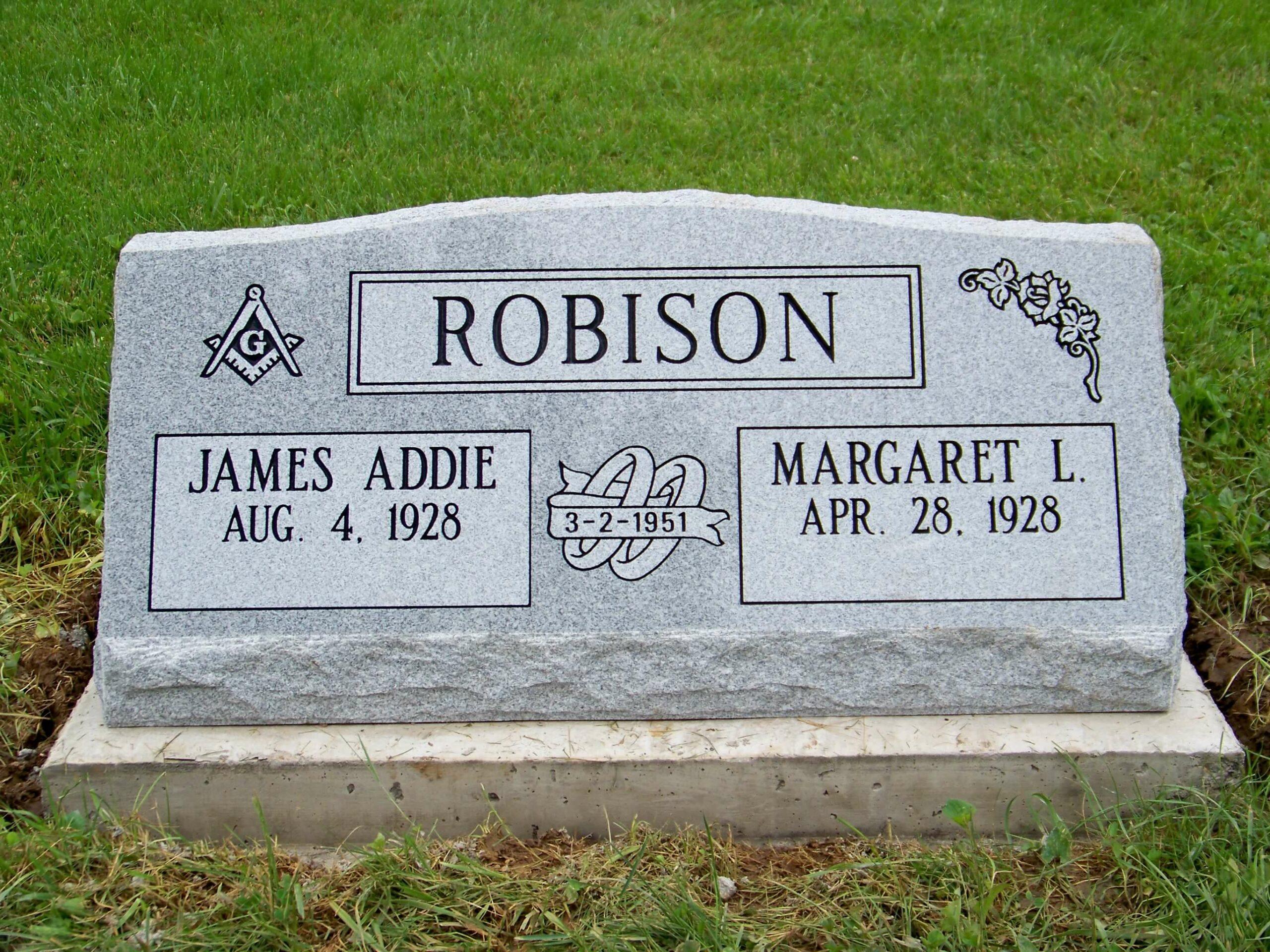 Robison, James A.