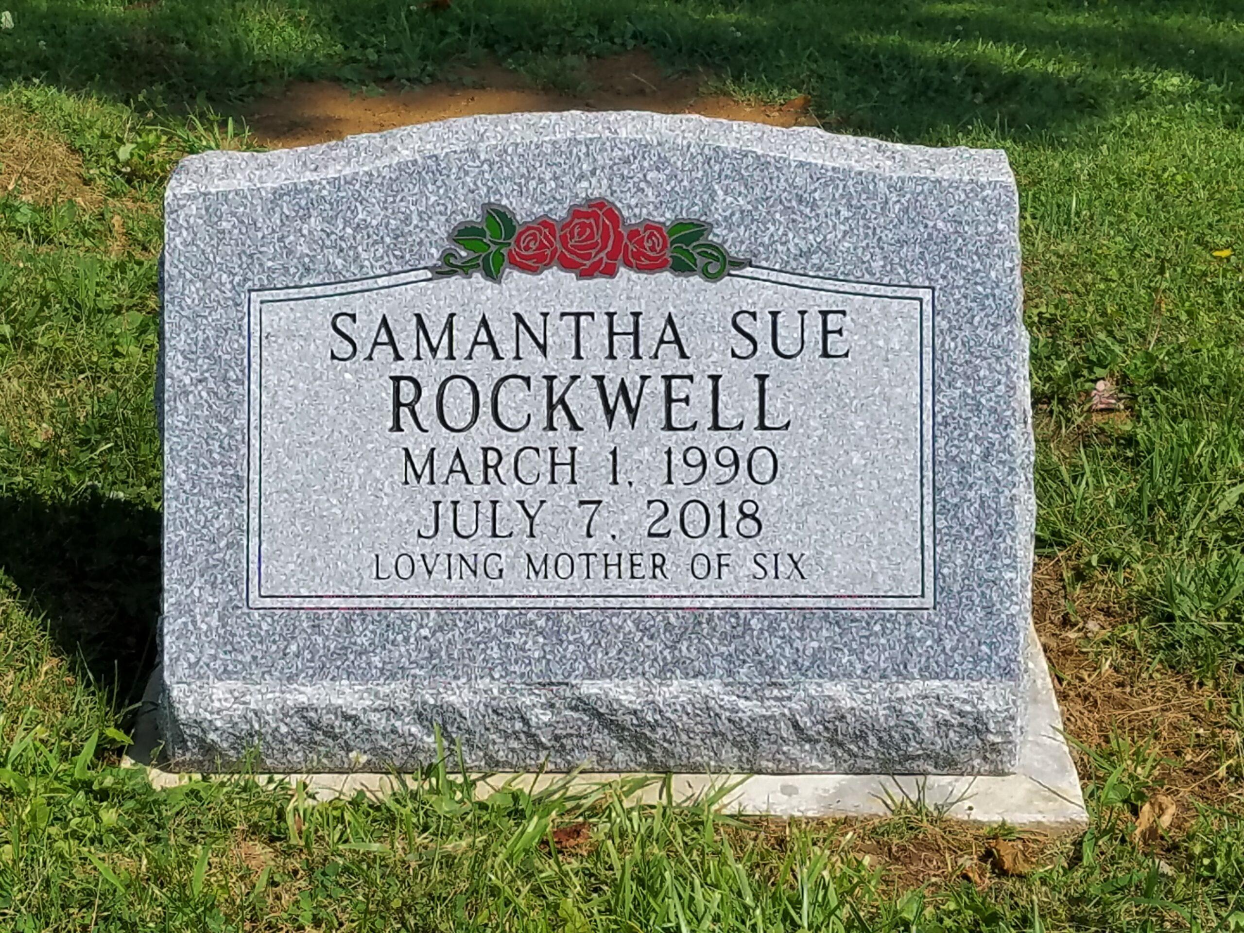 Rockwell, Samantha Sue - Fultonham Cem., 2-0, Gray