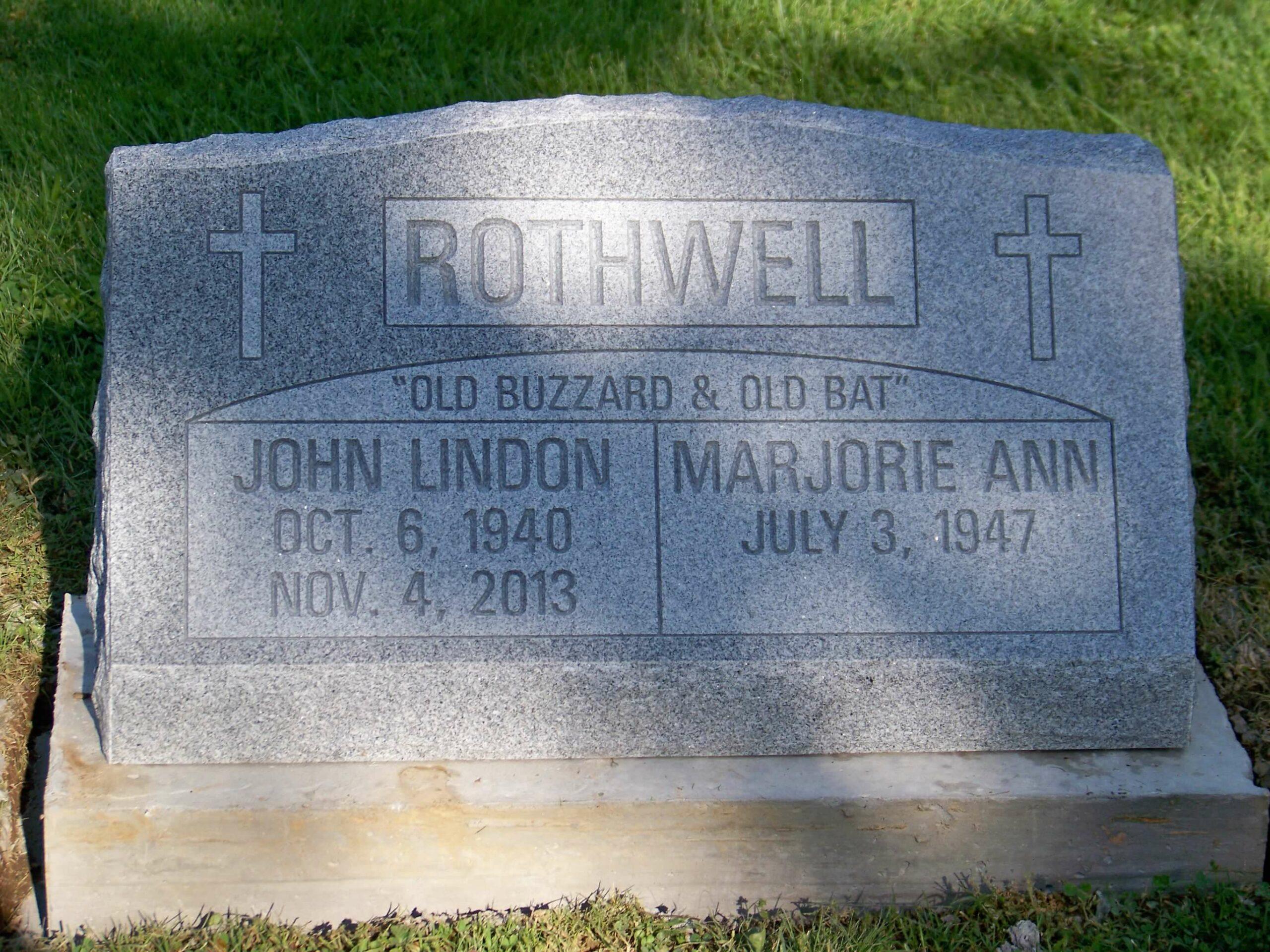 Rothwell, John Lindon