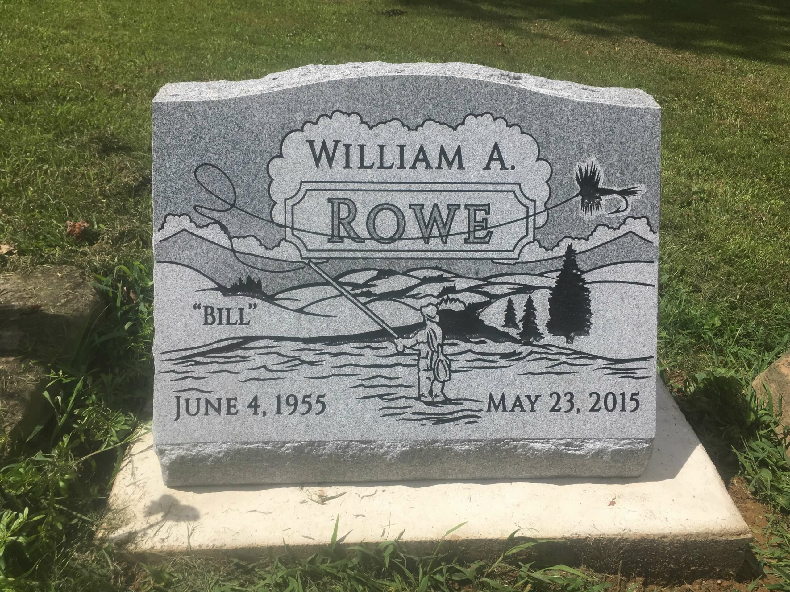 Rowe, William A. - Rowe Family Cemetery, 2-0, Gray