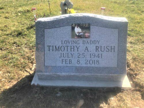 Rush, Timothy A. - Woodlawn Cem., 2-0, Gray