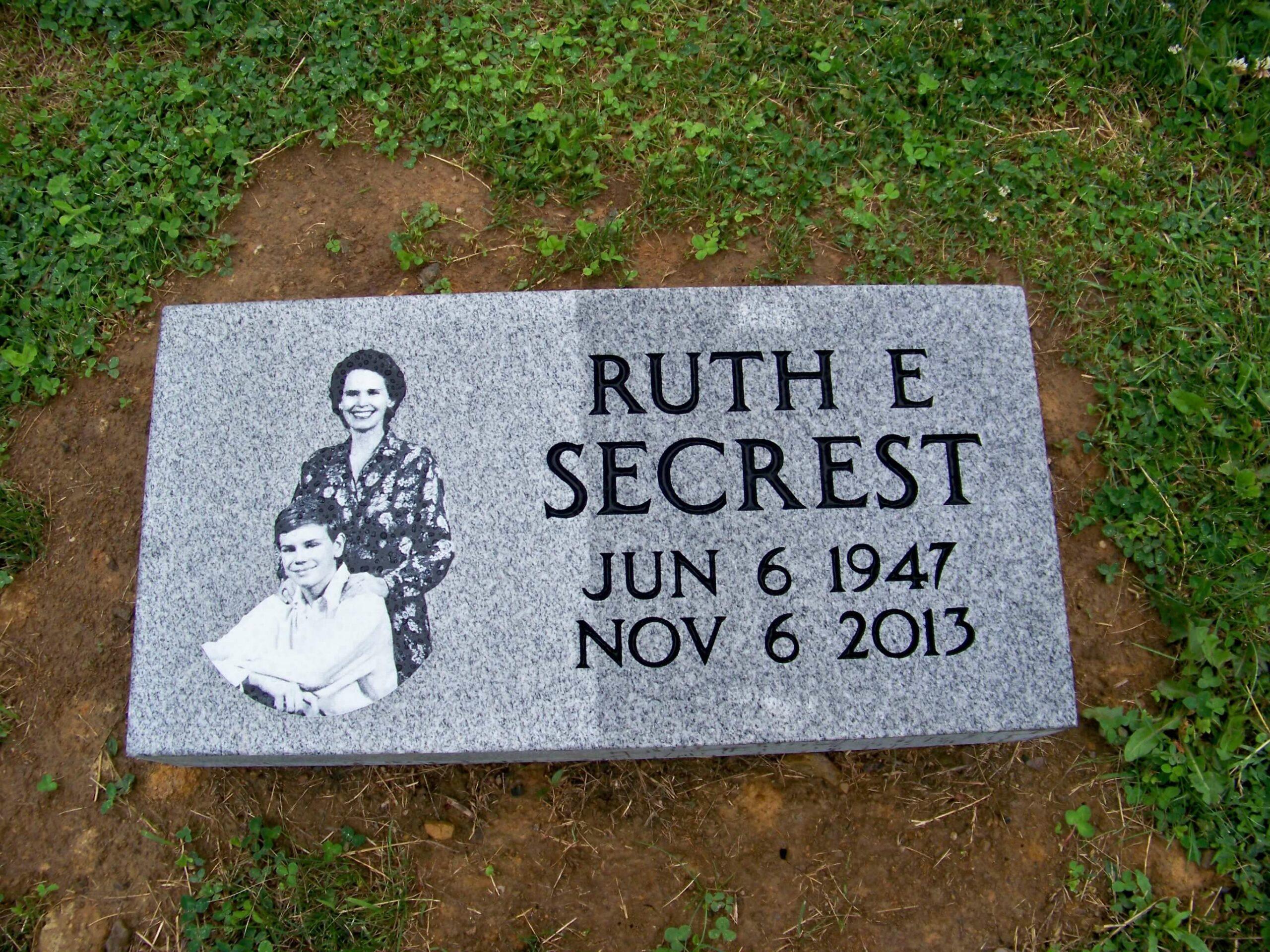 Secrest, Ruth - Senecaville Cem