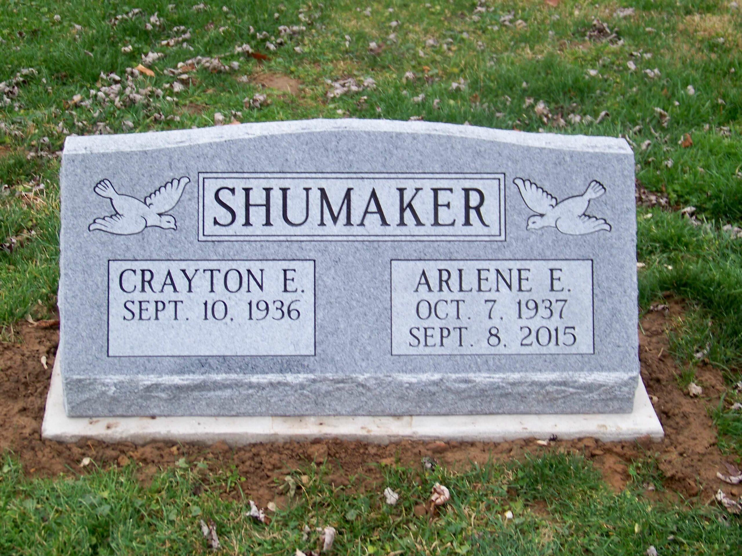 Shumaker, Crayton