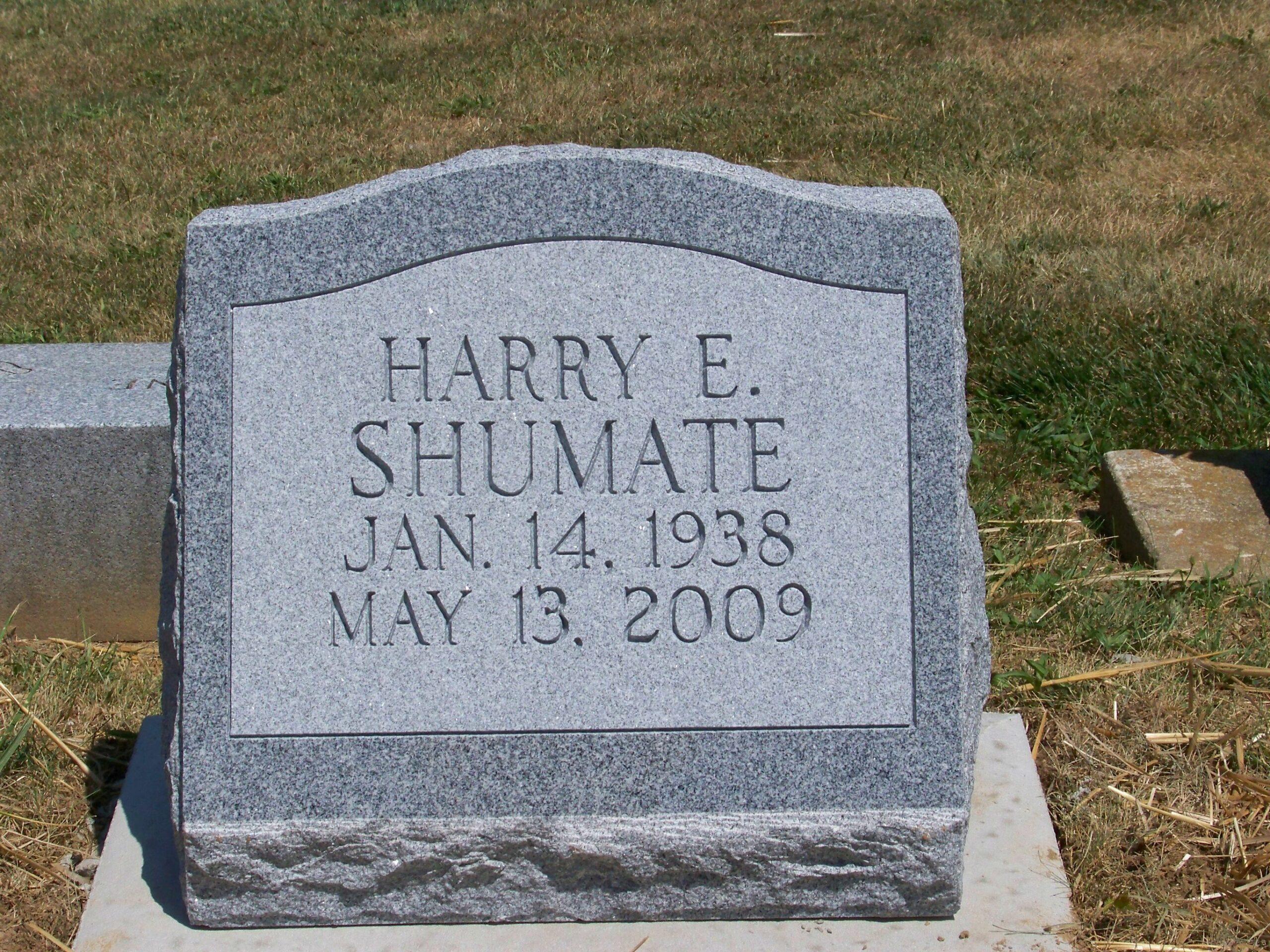 Shumate, Harry E.