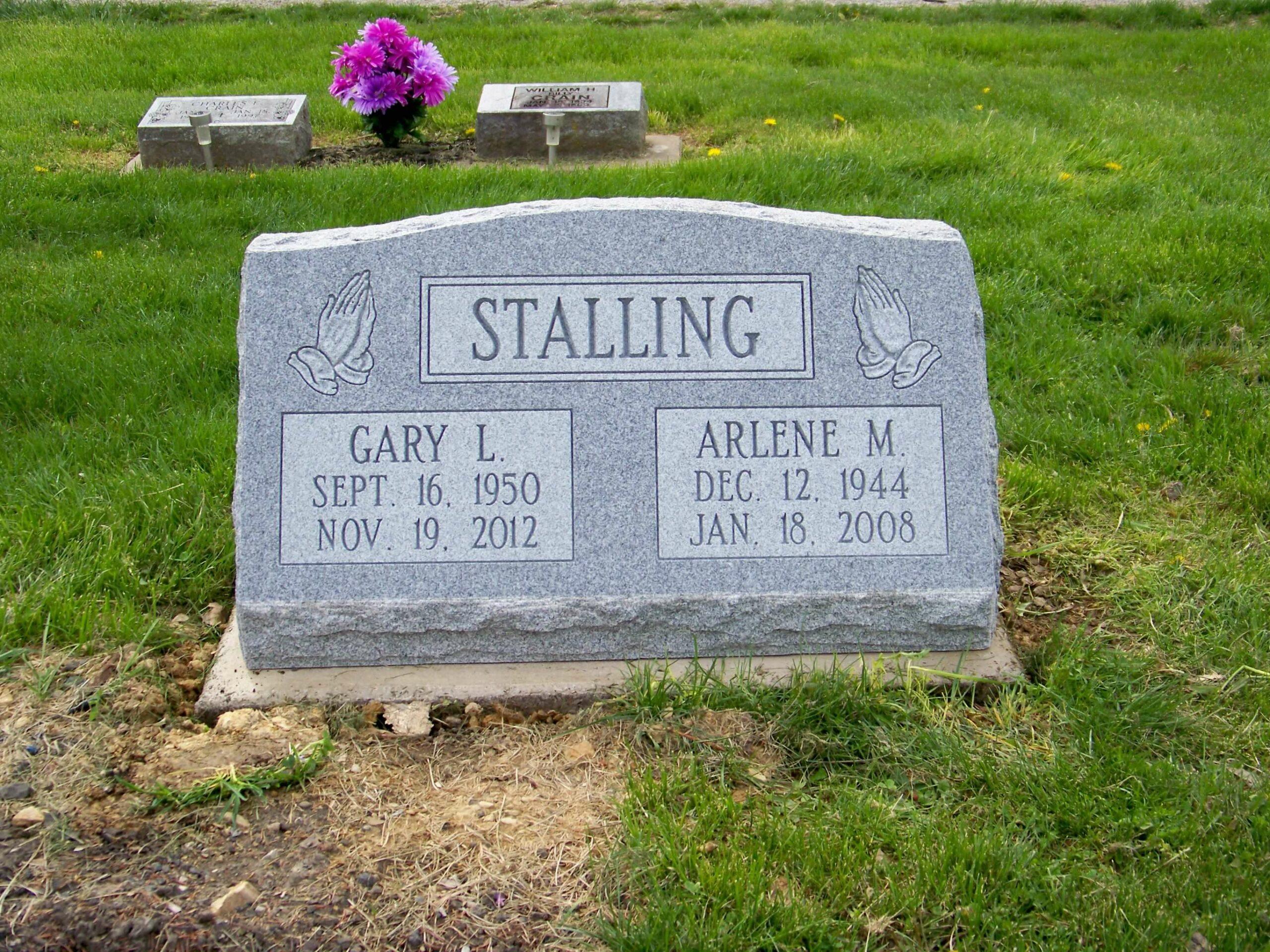Stalling, Gary and Arlene- Mt. Horeb Cem