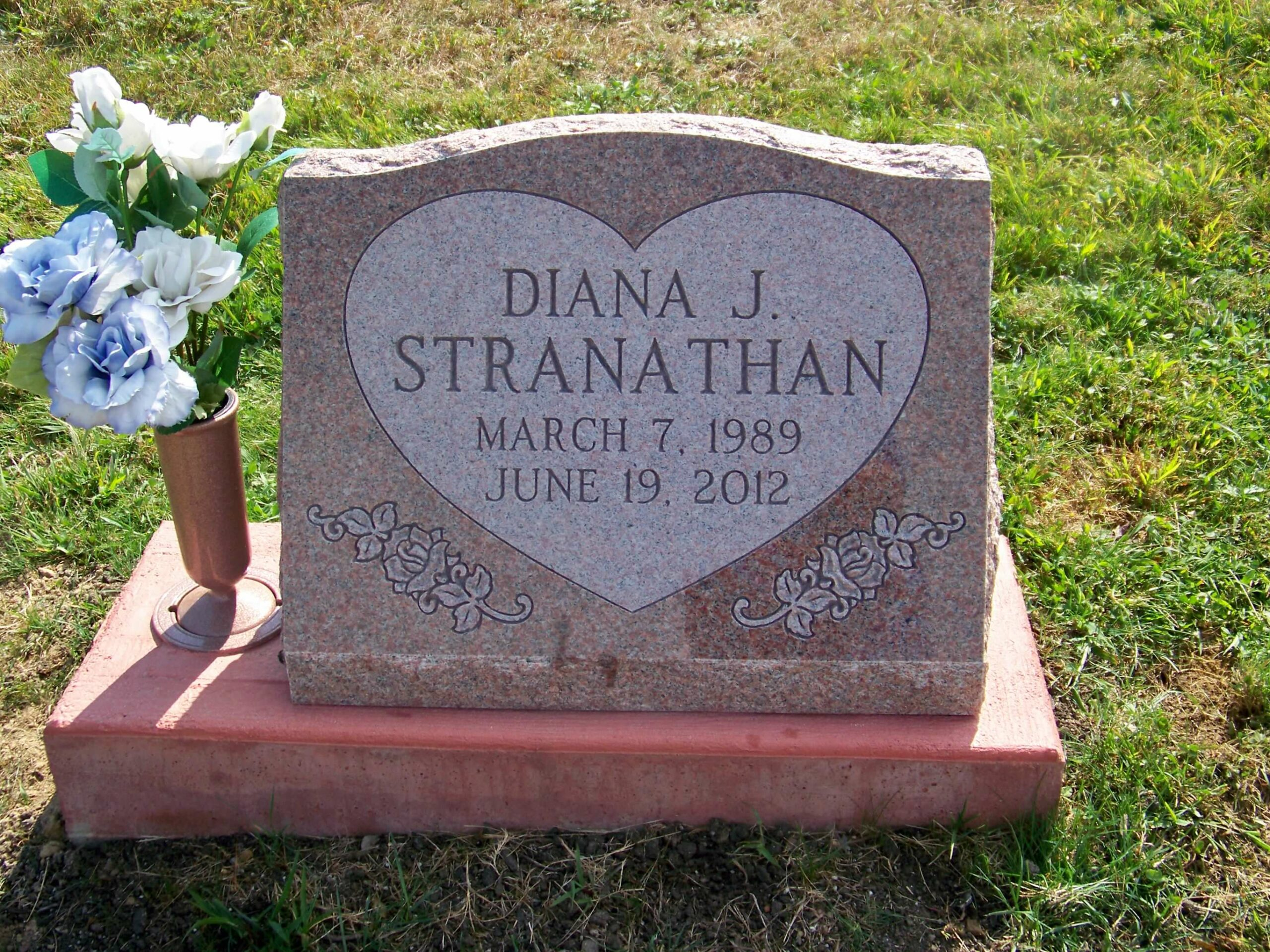 Stranathan, Diana - Pleasant City Cemetery