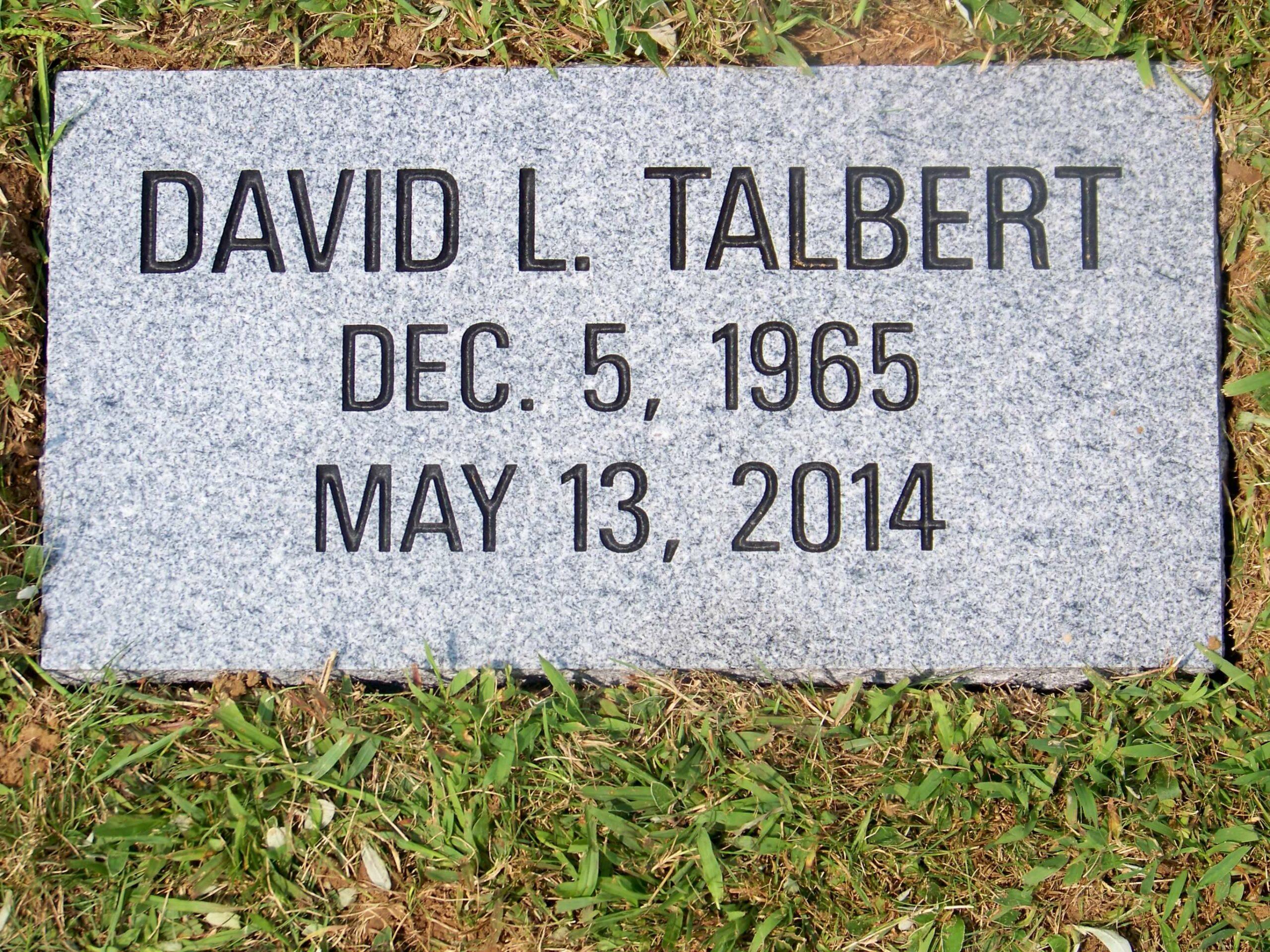 Talbert, David - Greenwood Byesville
