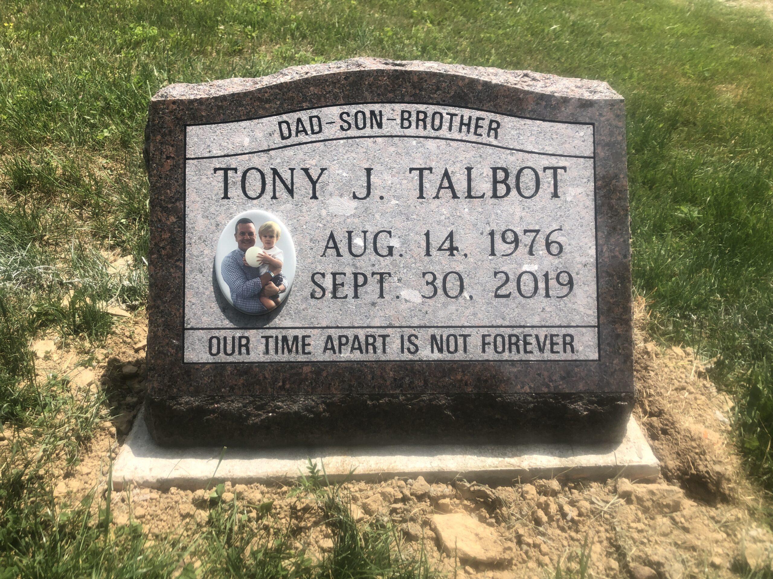 Talbot, Tony - Irville Cem., 1-10, Mahogany