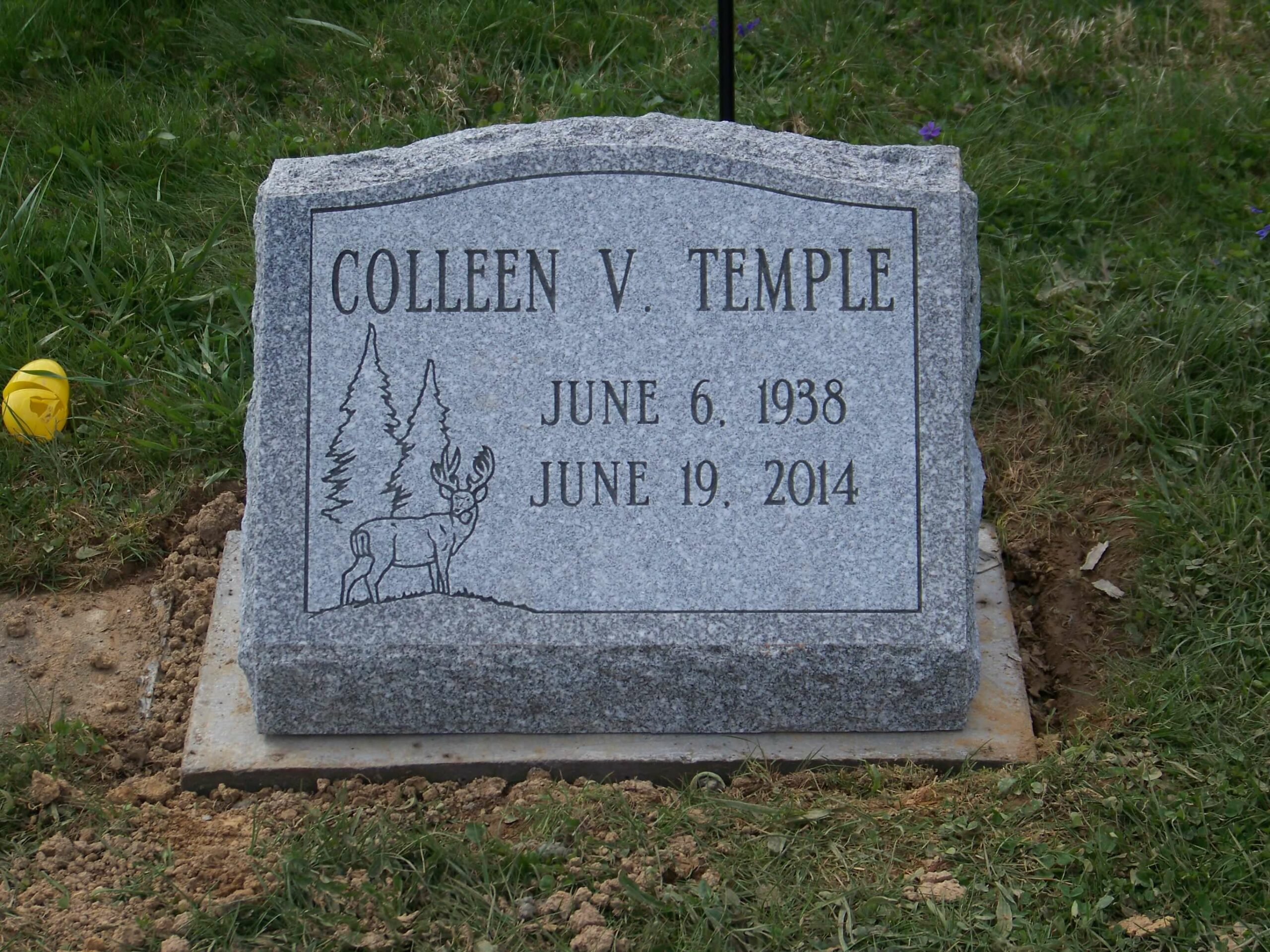 Temple, Colleen - Rosehill Cemetery