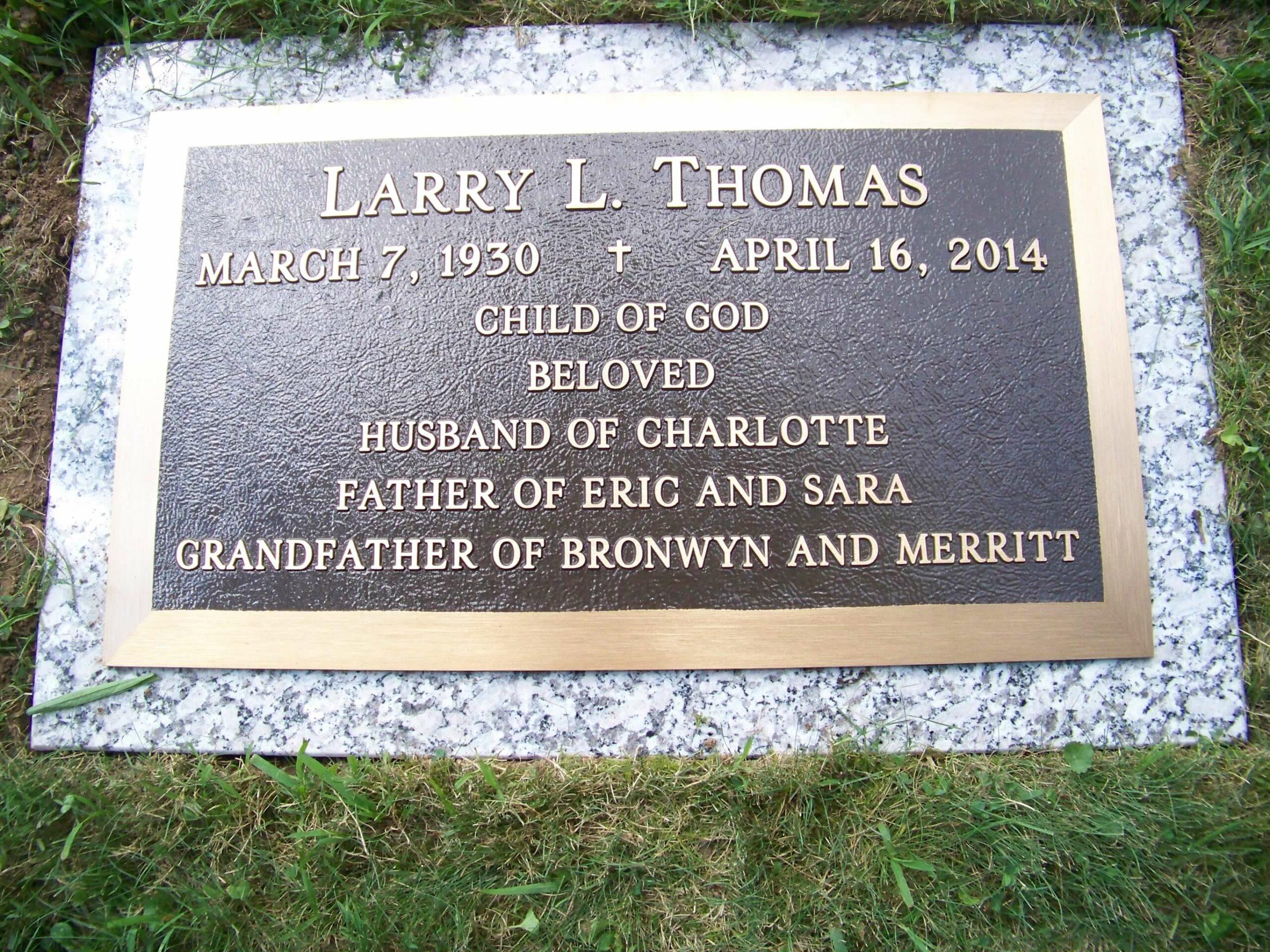Thomas, Larry L. - Stovertown - 21 x 14