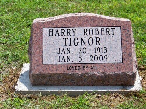 Tignor, Harry Robert