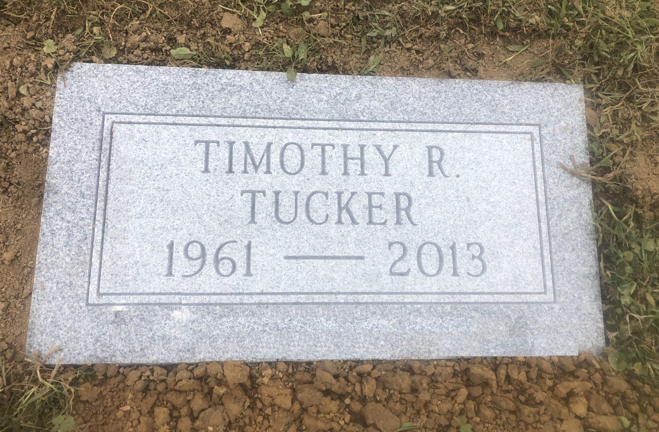 Tucker, Timothy - Greenwood Cem. Byesville, 1-8, Gray