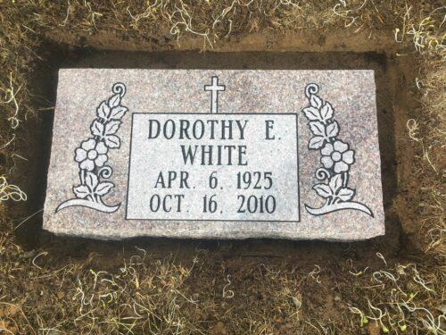 White, Dorothy - Mt. Olive Cem., 2-0, Autumn Rose