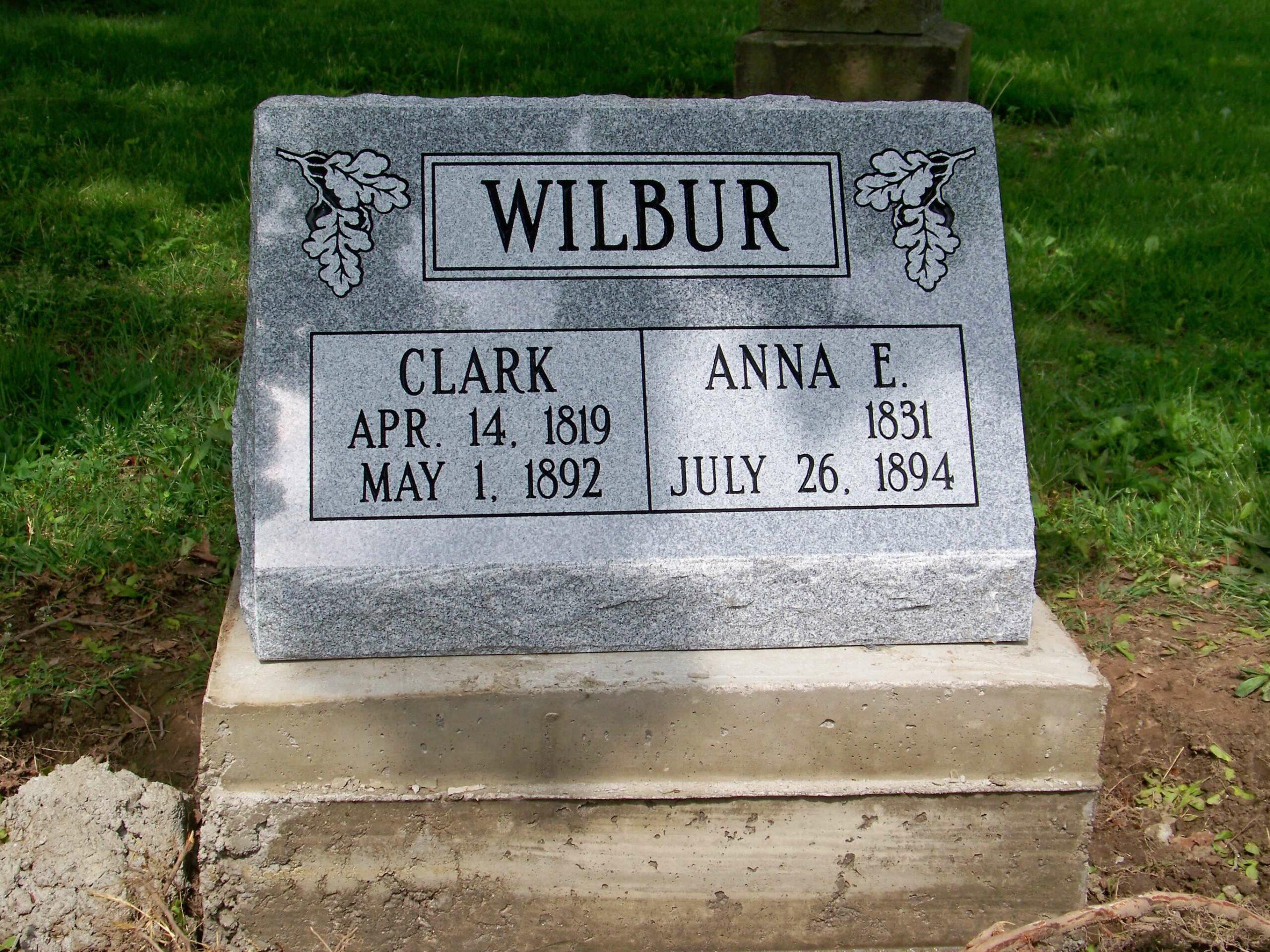 Wilbur, Clark