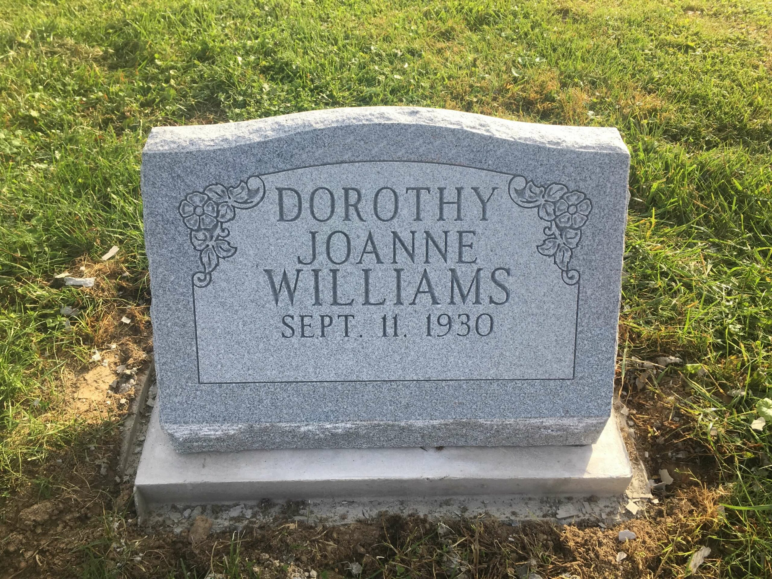 Williams, Dorothy J. - Woodlawn-ZV, 2-0, Gray 1