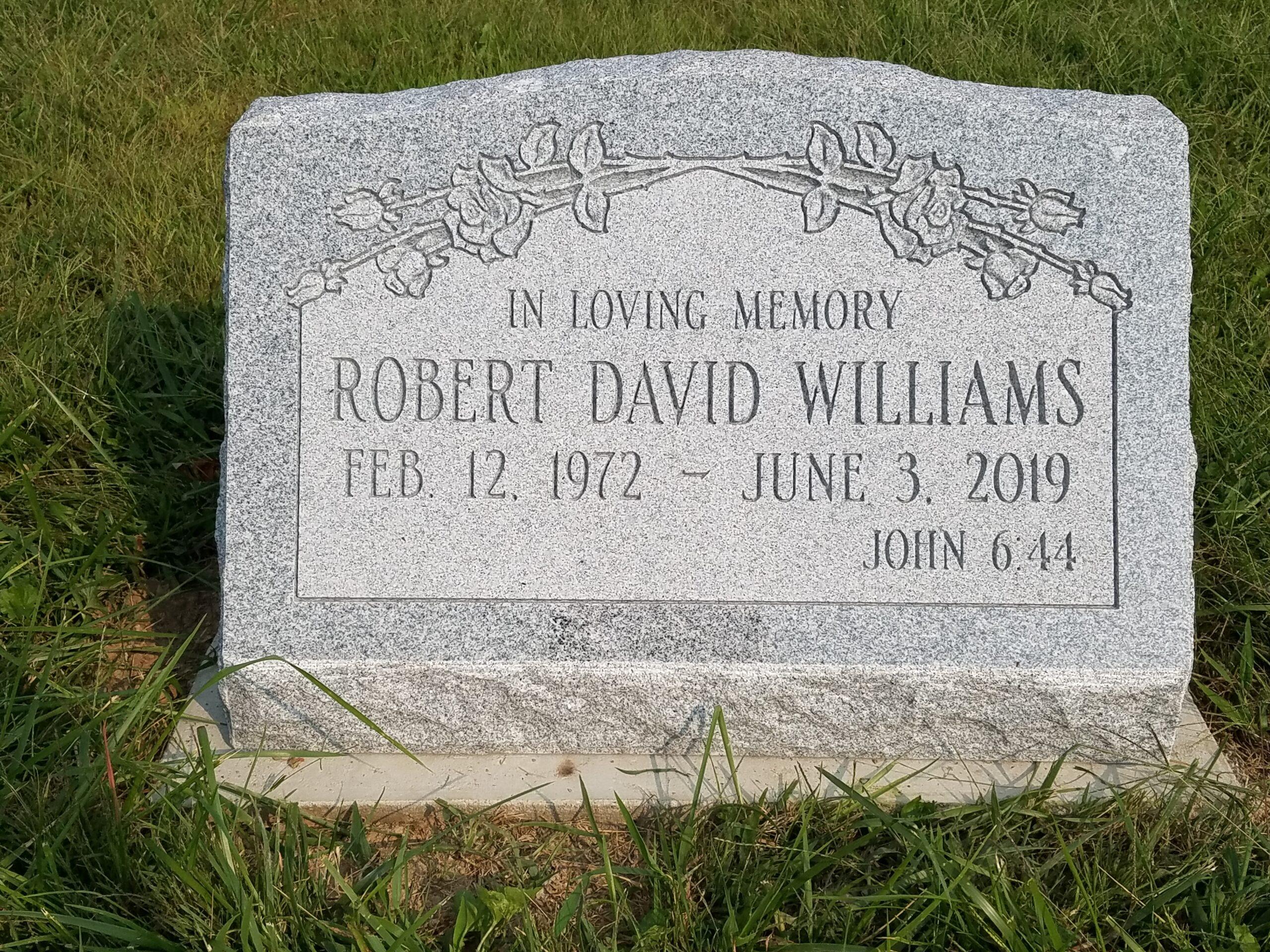 Williams, Robert D. - Adamsville Cem., 2-0, Gray