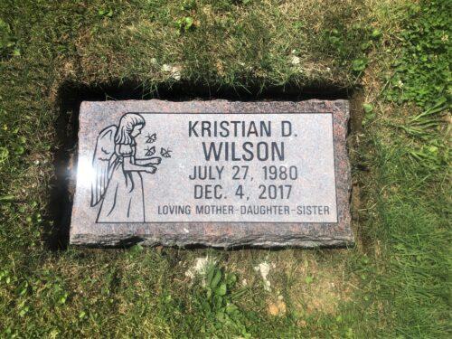 Wilson, Kristian D. - Mt. Olive Cem., 2-0, Mahogany